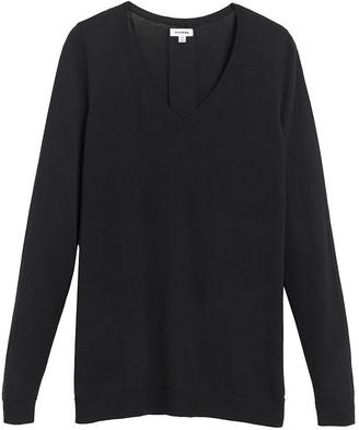 Cuyana Classic Cotton Cashmere V-Neck Sweater