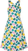 Draper James Printed Cotton-blend Dress