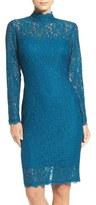 Adrianna Papell Corded Lace Sheath Dress (Regular & Petite)