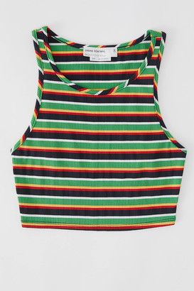 Urban Renewal Vintage Remnants Striped Knit Tank Top