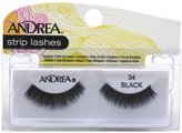 Andrea Lashes Strip Style 34 Black