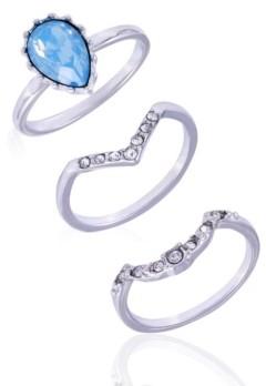 Nanette Lepore Extra Celestial Set of 3 Stack Rings