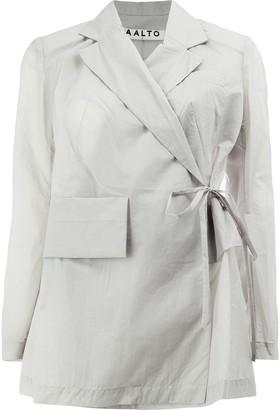Aalto tie waist jacket