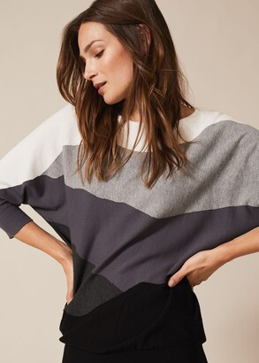 Phase Eight Lorrie Abstract Knitted Dress