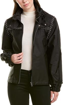 Moncler Genius 6 Leather-Trim Jacket