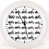 "Ikea New American Motorcycles Wall Clock 10"" Will Be Nice Gift and Room Wall Decor Z30"
