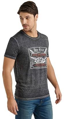 Lucky Brand Jack Daniels Tee (Jet Black) Men's Clothing