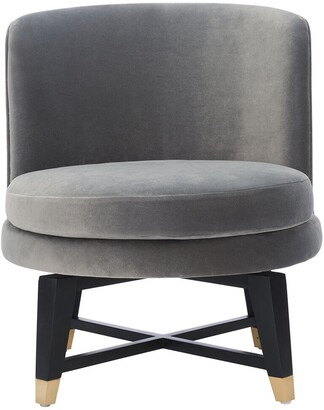 Safavieh Couture Trinity Swivel Accent Chair