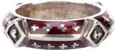 Tobias Wistisen Silver motif ring
