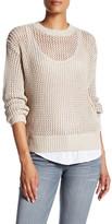 Current/Elliott The Zigzag Stitch Sweater