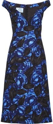 Prada Crepe cady dress