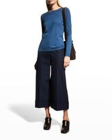 Thumbnail for your product : Neiman Marcus Superfine Cashmere Crewneck Sweater