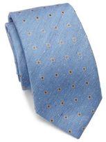 Isaia Cravatta 7 Silk Tie