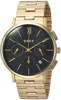 DKNY Women's 'Willoughby' Quartz Stainless Steel Casual Watch, Color:-Toned (Model: NY2540)