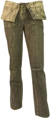 Christian Dior Grey Cotton - elasthane Jeans