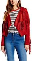 Glamorous Women's Glam Fringe Long Sleeve Jacket