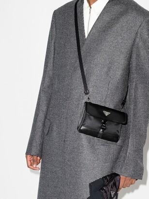 Prada Black Phone Case Cross Body Bag