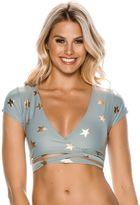 O'Neill Starry Wrap Bikini Top