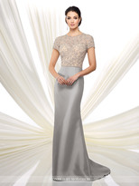 Ivonne D for Mon Cheri Ivonne D by Mon Cheri - Long Mikado Fit and Flare Evening Dress 216D45