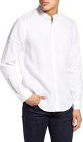 Club Monaco Slim Fit Linen Button-Up Shirt