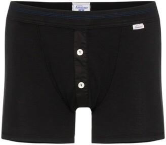 Schiesser Karl-Heinz cotton boxer shorts
