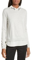 Ted Baker Women's Miriah Embellished Layer Look Sweater