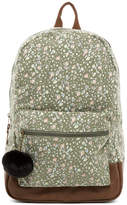 Madden-Girl Ditzy Floral Canvas Backpack