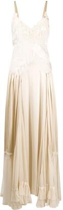 Antonio Marras Bead-Embroidered Long Dress