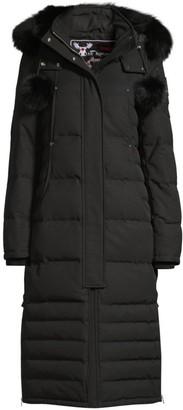 Moose Knuckles Saskatchewan Fur-Trim Hooded Quilted Parka