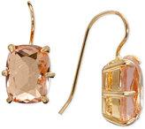 Lauren Ralph Lauren Gold-Tone Stone Drop Earrings