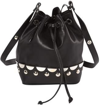 Diesel Black Leather Handbags