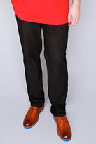 Yours Clothing Rockford Black Stretch Jeans
