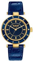 Versus By Versace Women's SP8140015 Logo Analog Display Quartz Blue Watch