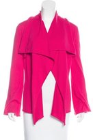 Magaschoni Long Sleeve Open Front Cardigan