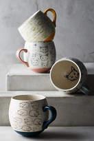 STUDY Leah Goren Cat Mug