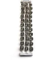 ABS by Allen Schwartz Faceted Crystal Multi-Chain Bracelet