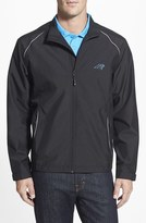 Cutter & Buck Men's Big & Tall 'Carolina Panthers - Beacon' Weathertec Wind & Water Resistant Jacket