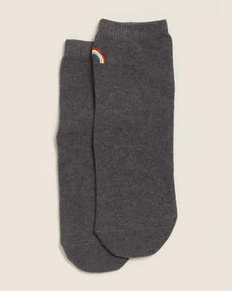 Richer Poorer Charcoal Rainbow Ankle Socks