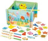 Vilac Ocean Magnetic Fishing Game Multicoloured
