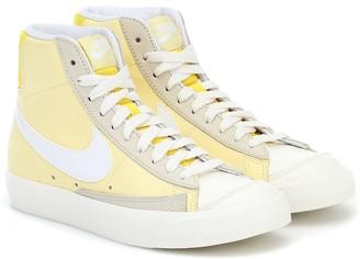 Nike Blazer Mid 77 leather sneakers