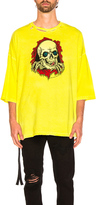 Unravel for FWRD Oversized Boxy Tee in Yellow,Neon.