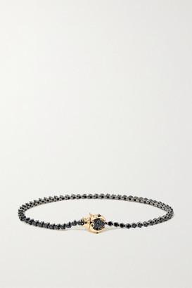 Yvonne Léon 18-karat Blackened White And Yellow Gold Diamond Bracelet - White gold