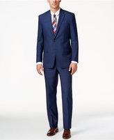 Lauren Ralph Lauren Men's Slim-Fit Ultraflex Navy Sharkskin Suit