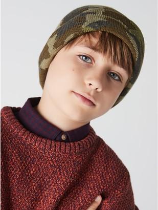 M&Co Camouflage beanie (3-12yrs)