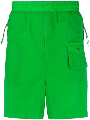 Moncler Side-Pocket Shorts