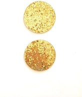 Kate Spade Gold Glitter Coasters