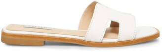 Steve Madden Hadyn White Leather