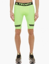 Adidas By Kolor Green Techfit Climachill Shorts