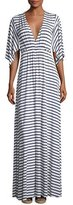 Rachel Pally Striped Caftan Maxi Dress, Plus Size
