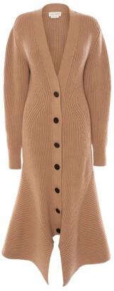 Alexander McQueen Sculpted Knit Jacket